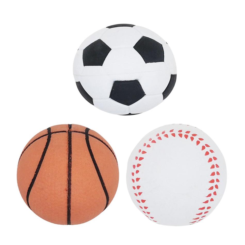 ชุดของเล่นลูกบอลสัตว์เลี้ยง Petsuka แพ็ค 3 ชิ้น